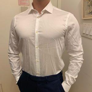 Zara Man white dress shirt.